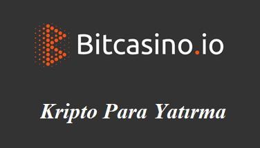 BitCasino Kripto Para Yatırma